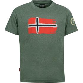 TROLLKIDS Oslo T-Shirt Enfant, khaki green